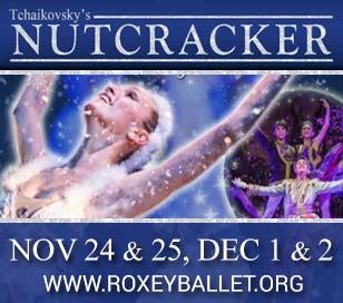 Roxey Ballet, the award-winning professional dance company, is proud to present its annual holiday classic: Tchaikovsky's Nutcracker. This acclaimed event has become a favorite tradition of area residents and holiday visitors alike. Clara and her friends will take you on an enchanting voyage to meet magical mice, giant rats, marching soldiers, swirling snowflakes, waltzing flowers and the beautiful Sugar Plum Fairy. Brilliant costumes and elaborate sets draw the audience into a heart-lifting marvelous journey that ushers in the seasonal spirit. Audiences can also expect a visit from Santa and his jolly friends during the performance! 'This production is known as the most child-friendly production in the region, and we have lots of exciting enhancements and additions this season. Audiences will see many familiar faces, lots of new faces, and returning alumni from years past,' says Mark Roxey, Artistic Director. The cast is comprised of more than 150 professional, pre-professional, and local dancers and actors. This year's cast features recognized community leaders performing alongside the company's roster of world-class artists. Join us before the performance for carols sung by Princeton Pro Musica. Roxey Ballet's Nutcracker production is a joyous and magical way to begin the holiday season. This affordable show provides the perfect introduction to ballet for children of all ages, with timeless classical music, beautiful costumes, special effects, and an accessible story. The production is directed by Mark Roxey, director and co-founder of this acclaimed professional company. Also featured are more than 200 costumes designed by Alicia Worden and Nilda Roxey and lighting design by Jeffrey Goldstein. Complemented by an international star cast of professional performers, Roxey Ballet draws on the abundant local talent pool from neighboring communities, including Lambertville, New Hope, Hopewell, Titusville, Lawrenceville, Pennington, Ewing, and Princeton.