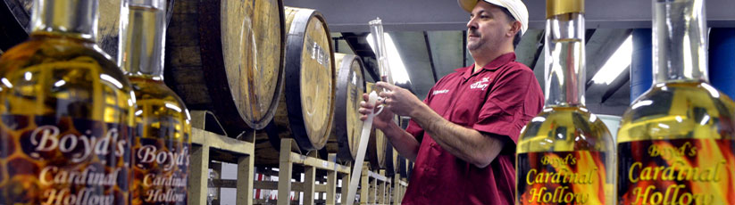 Cardinal Hollow Winery specializes in making wines that no one else is making like: Jalapeno Wine, Whiskey Mead, Agave (Tequila) Wine and Hazelnut Port along with 25+ more varieties. Cardinal Winery has a wine for everyone from dry to sweet. All of the wineries fruit wines are made from 100% fruit. No flavorings, no additives, no syrups. Just fresh fermented fruit. The main winery in West Point PA has a big party room available for rent for your Bridal Shower, Birthday, Corporate Event, etc along with a full kitchen and chef for Catering on site and off site. Cardinal Winery also has a tasting room in Lahaska, right next to Peddlers Village. Its on Rt 202 right behind the Dairy Queen. The winery also has its wines available for purchase by the glass or bottle at Bacio II restaurant in Erdenheim and at Pk's Caribbean Cafe & Wine Bar in Norristown. The winery also delivers wine for free locally and can ship to any PA resident. Cardinal is also very interested in getting into distribution outside of PA so any contacts and/or leads to make that happen will be paid accordingly. Call us for all your wine enjoying needs and wants. We can do just about everything.