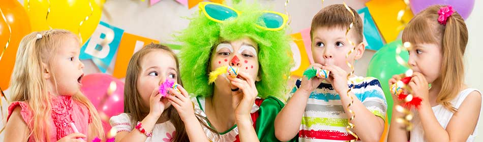 Party entertainment for children in the Warminster, Bucks County PA area